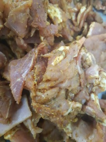 Pork kebab meat 200 gr - Pork kebab 200 gr