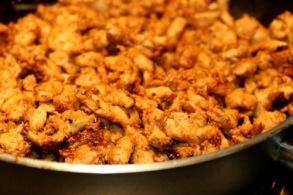 Chicken kebab meat 200 gr - Chicken kebab 200 gr