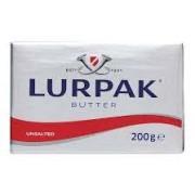 Lurpack unsalted butter