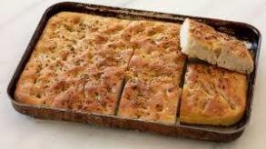 Focaccia 850 gr - Focaccia bread 850 gr