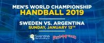 Sverige-Argentina 13 januari