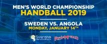 Sverige-Angola 14 januari