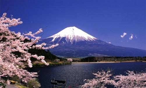 Fujiberget i Japan