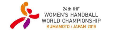 Logotyp VM i handboll damer i Japan