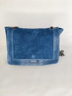 Joline Blue Leather