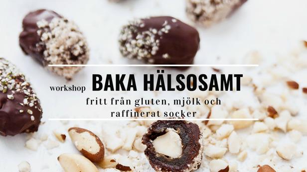 workshop Baka Hälsosamt