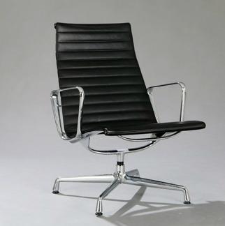 Loungefåtölj, Vitra Charles & Ray Eames EA-116 | Hyr designmöbler