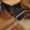Loungefåtölj, Herman Miller, Charles & Ray Eames, EA-116 | Hyr designmöbler
