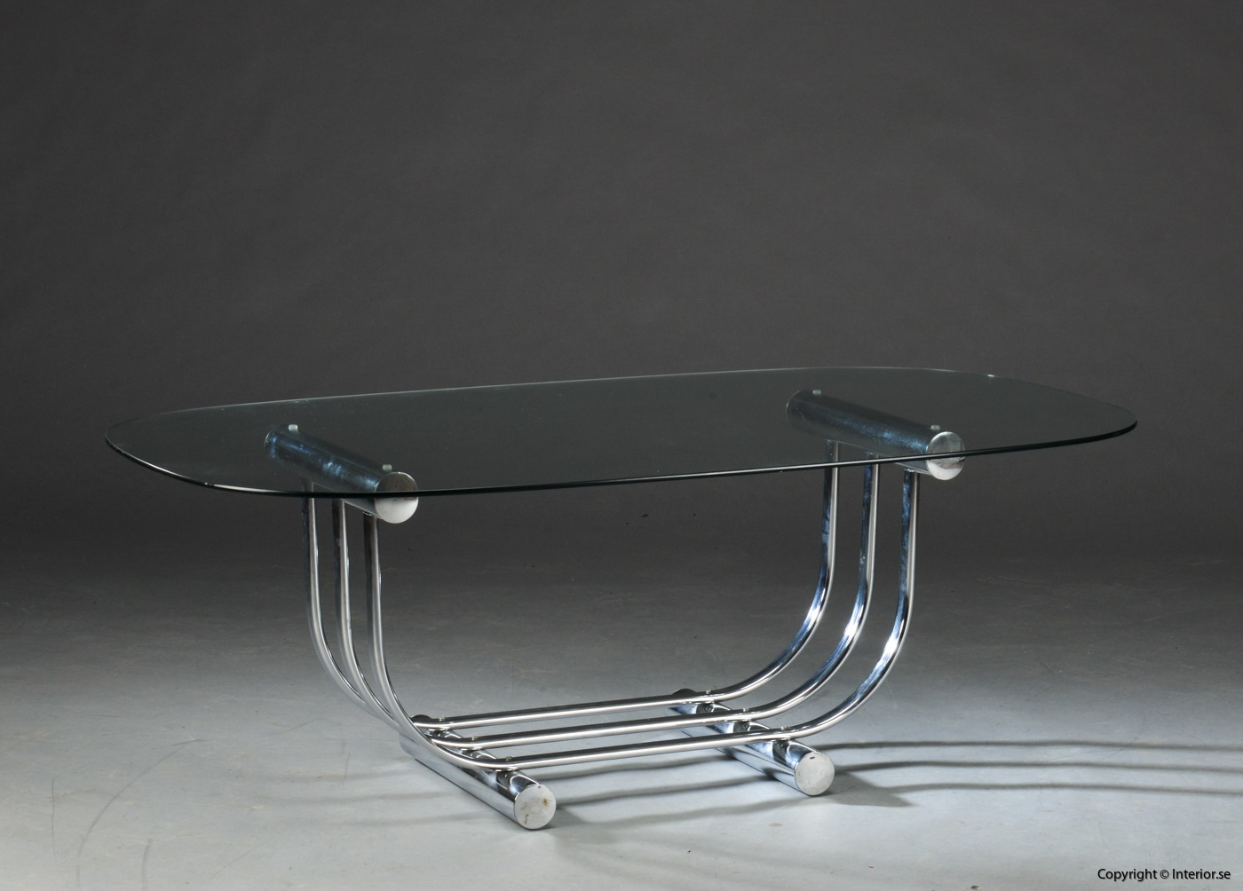 Table Chrome Glass