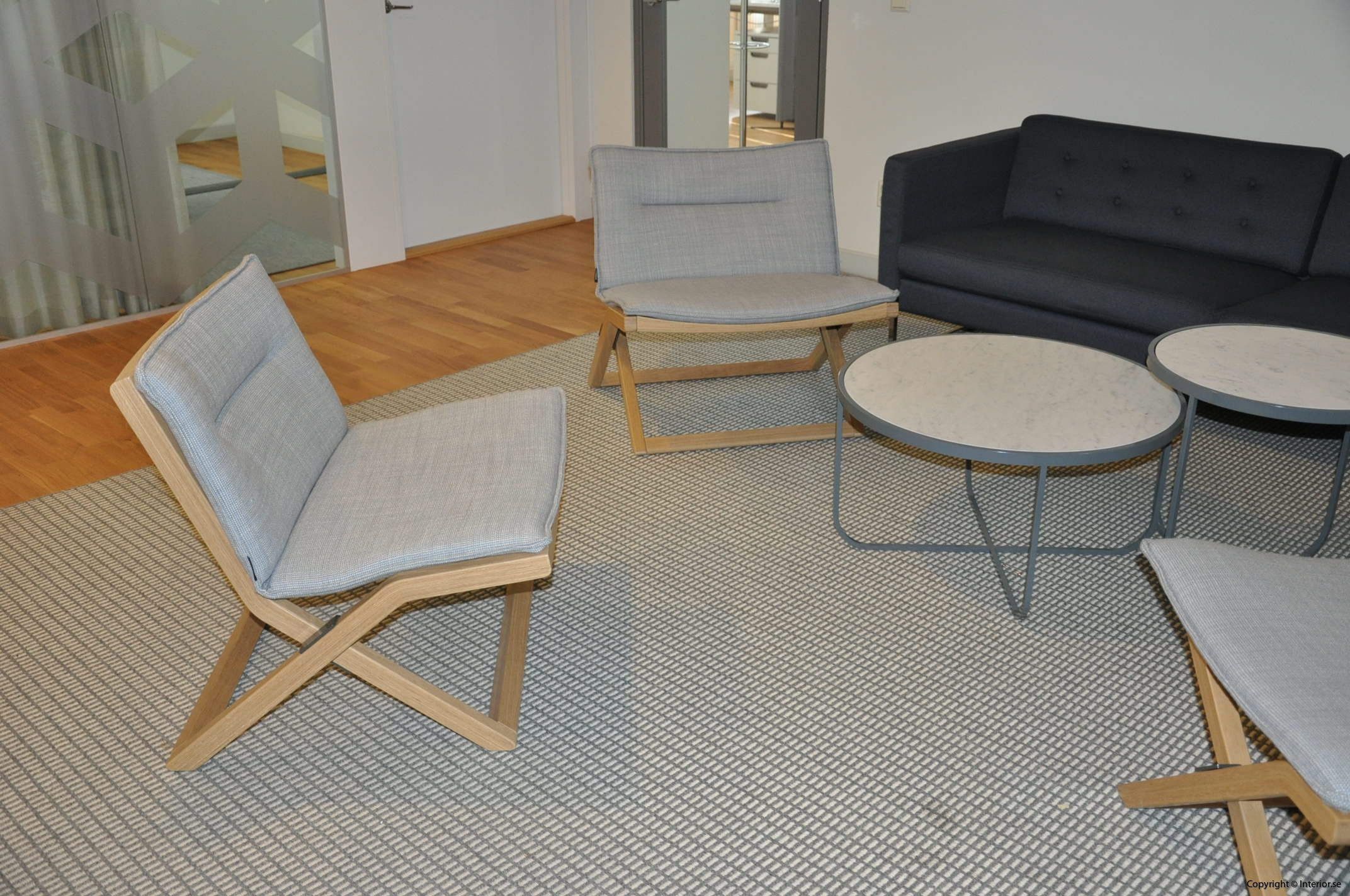 Begagnade kontorsmöbler Swedese Crusier Marina Bautier
