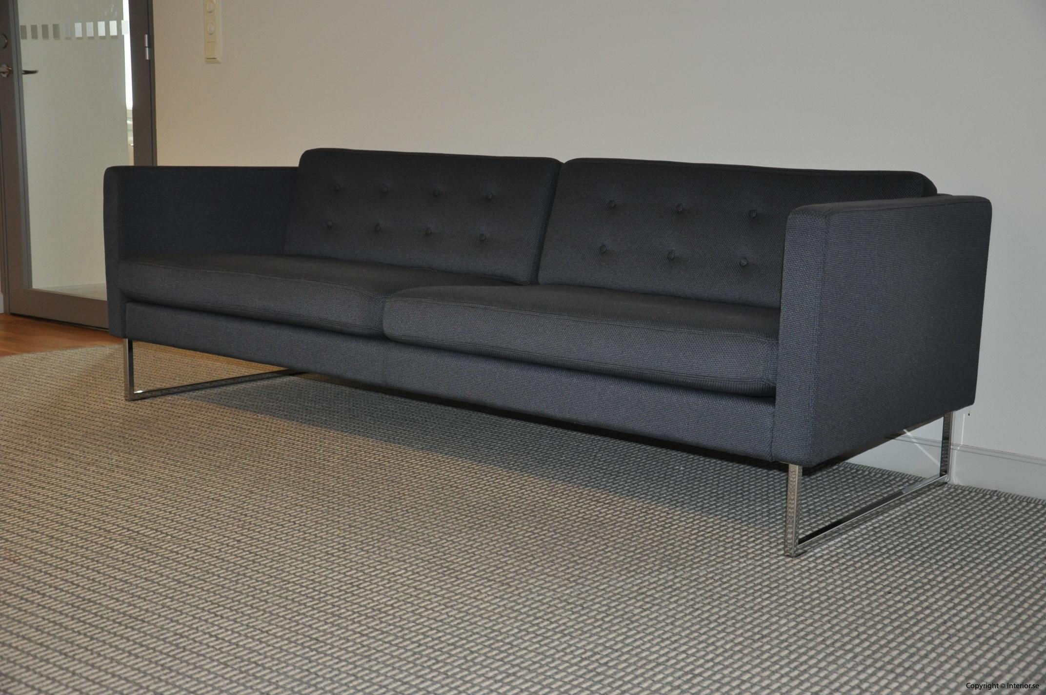 Begagnade designmöbler Swedese Madisson 3 sitssoffa (6)