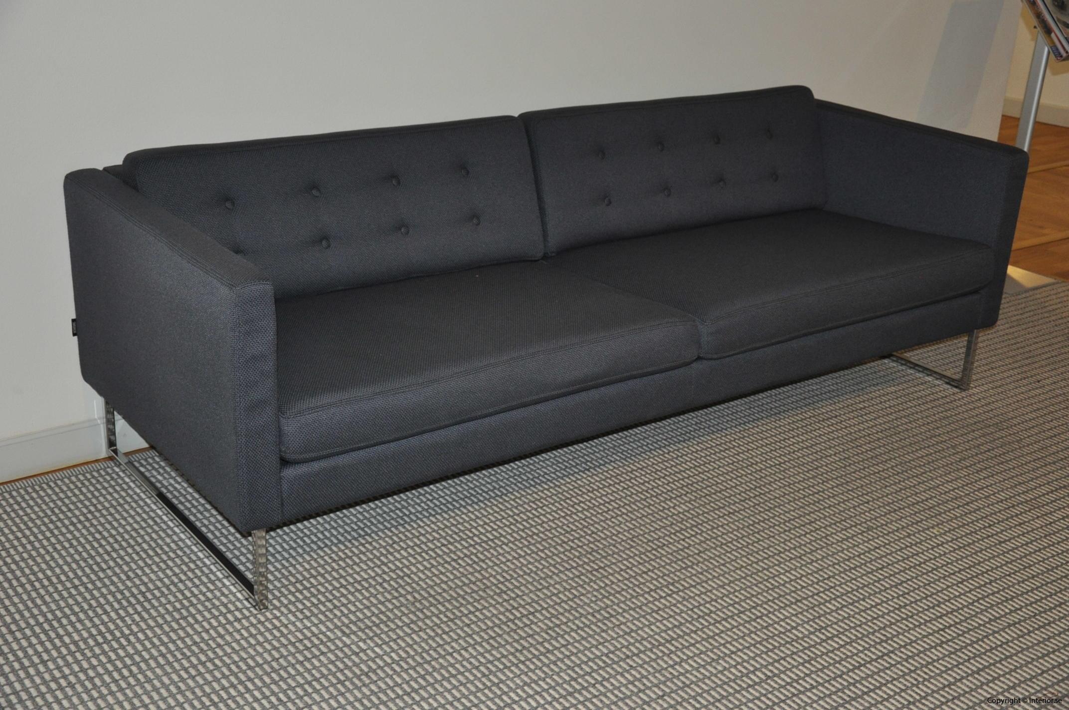Begagnade designmöbler Swedese Madisson 3 sitssoffa (7)