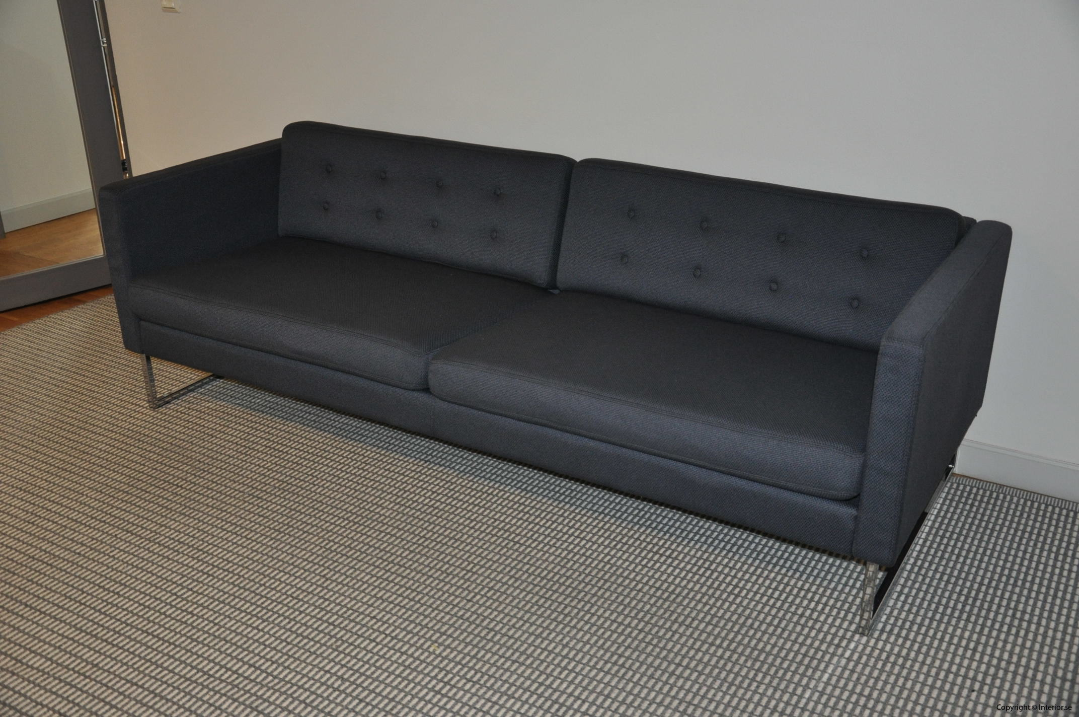 Begagnade designmöbler Swedese Madisson 3 sitssoffa (12)