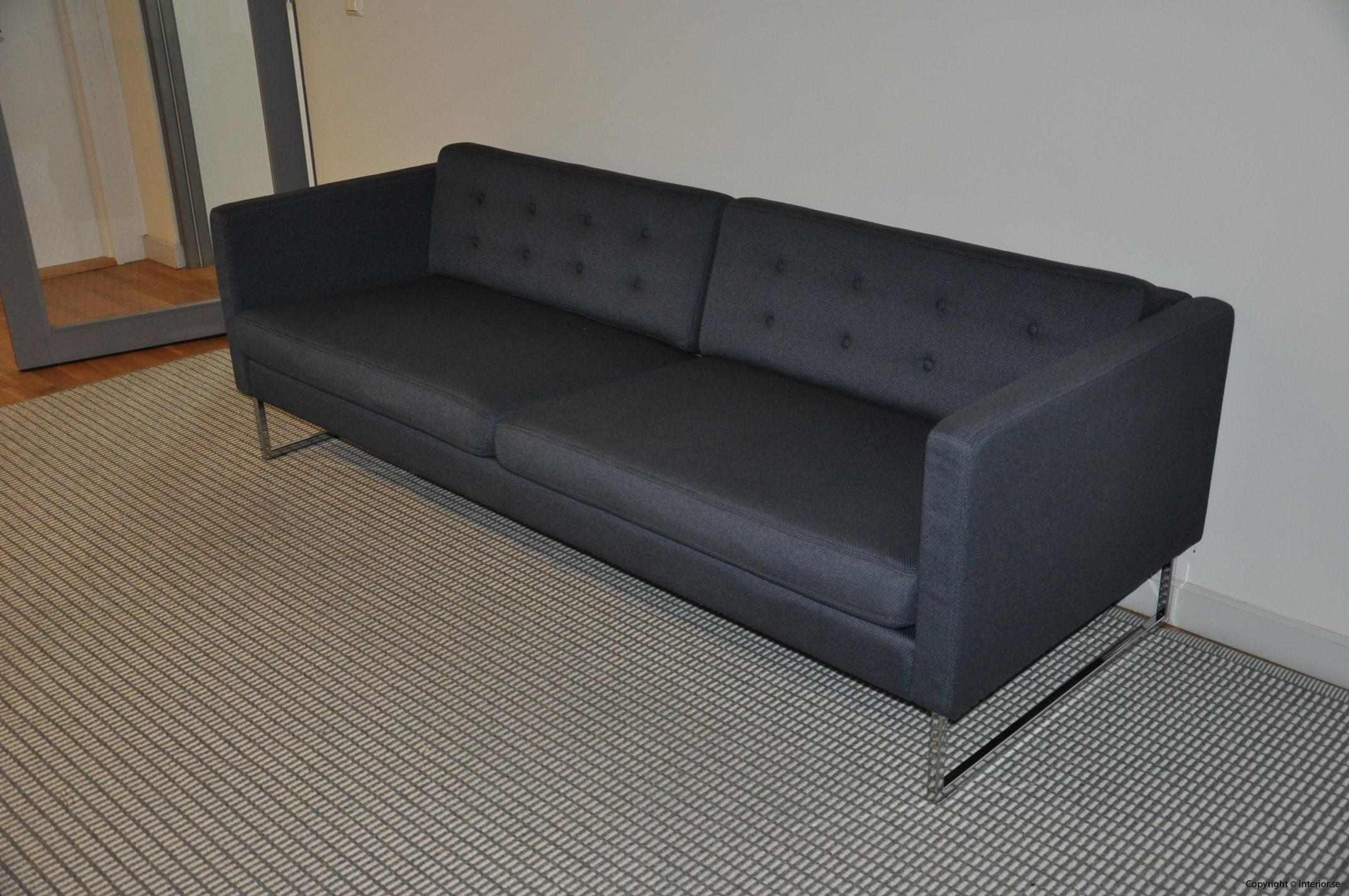 Begagnade designmöbler Swedese Madisson 3 sitssoffa (11)