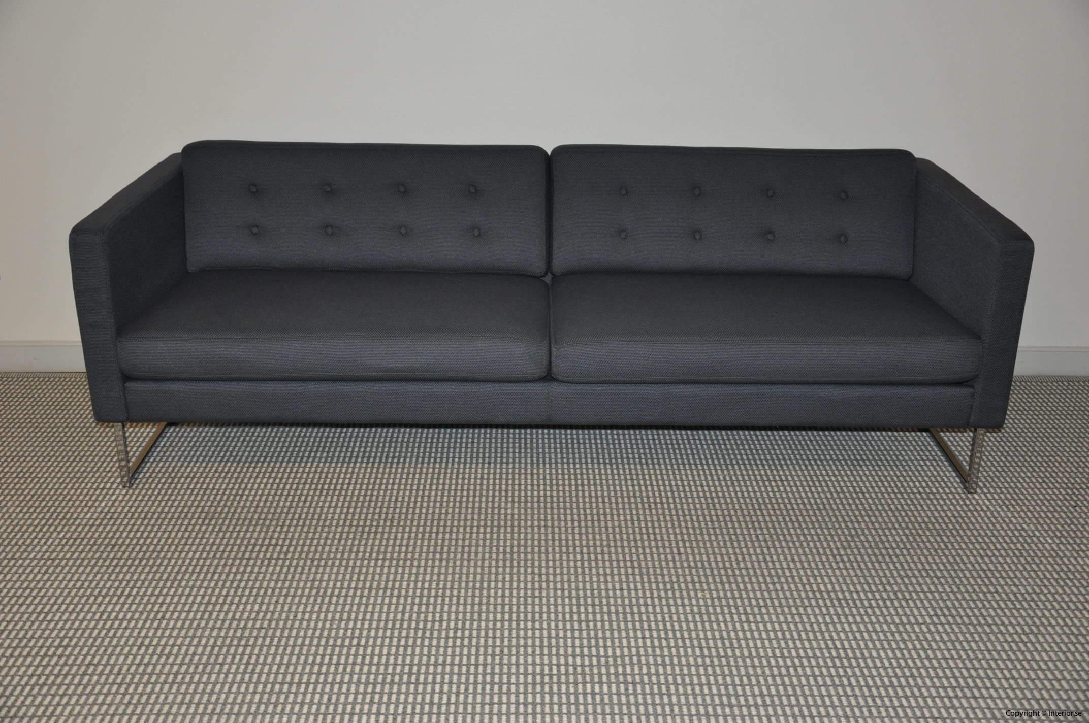Begagnade designmöbler Swedese Madisson 3 sitssoffa (4)