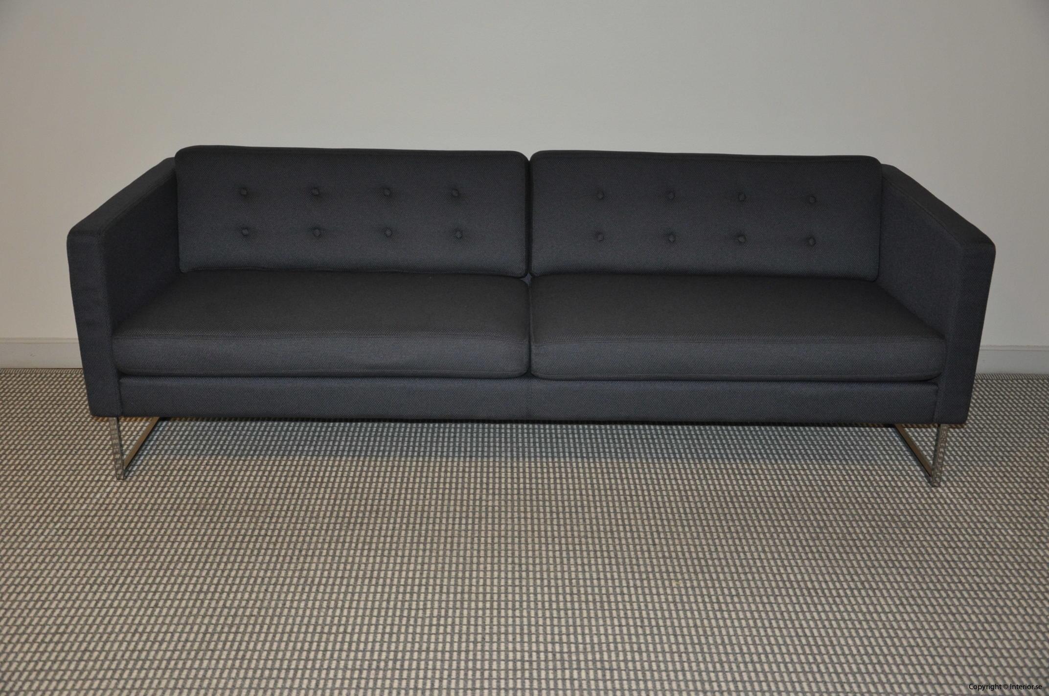 Begagnade designmöbler Swedese Madisson 3 sitssoffa (3)