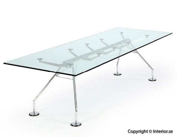Konferensbord Conference Table Norman Foster Nomos Table Techno SPA Begagnade designmöbler kontorsmöbler