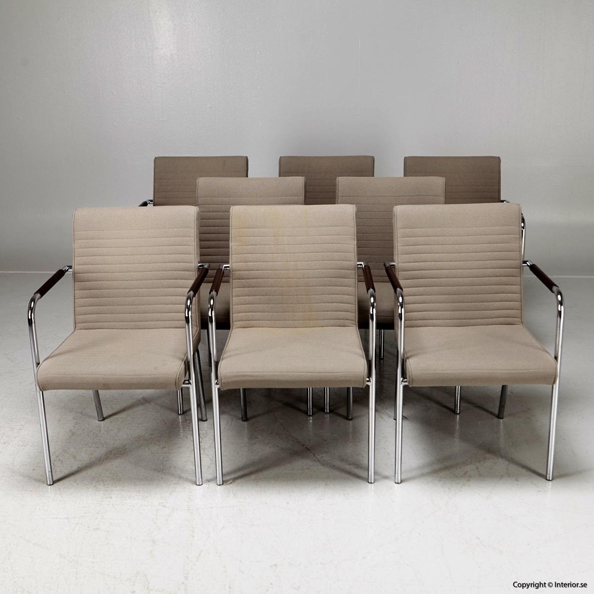 1 Offecct Quilt Olle Anderson konferensstol kontorsmöbler