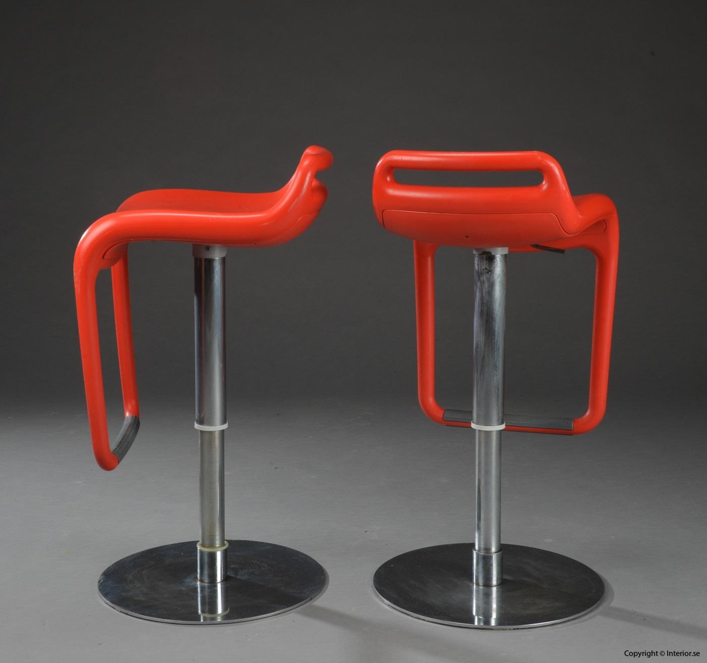 1 Segis Noon Archirivolto design barstol höj och sänkbar begagnade designmöbler (3)