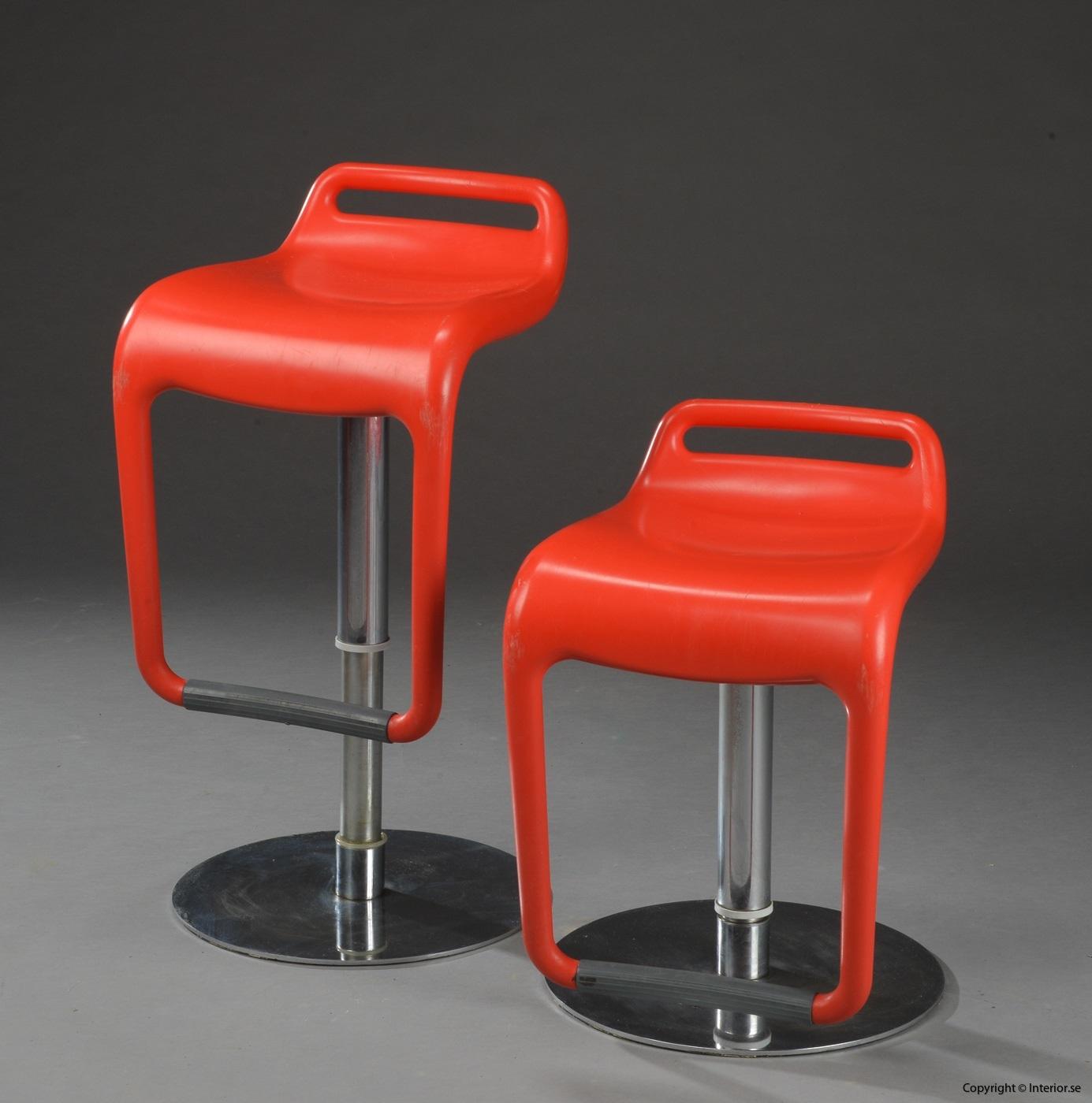 1 Segis Noon Archirivolto design barstol höj och sänkbar begagnade designmöbler
