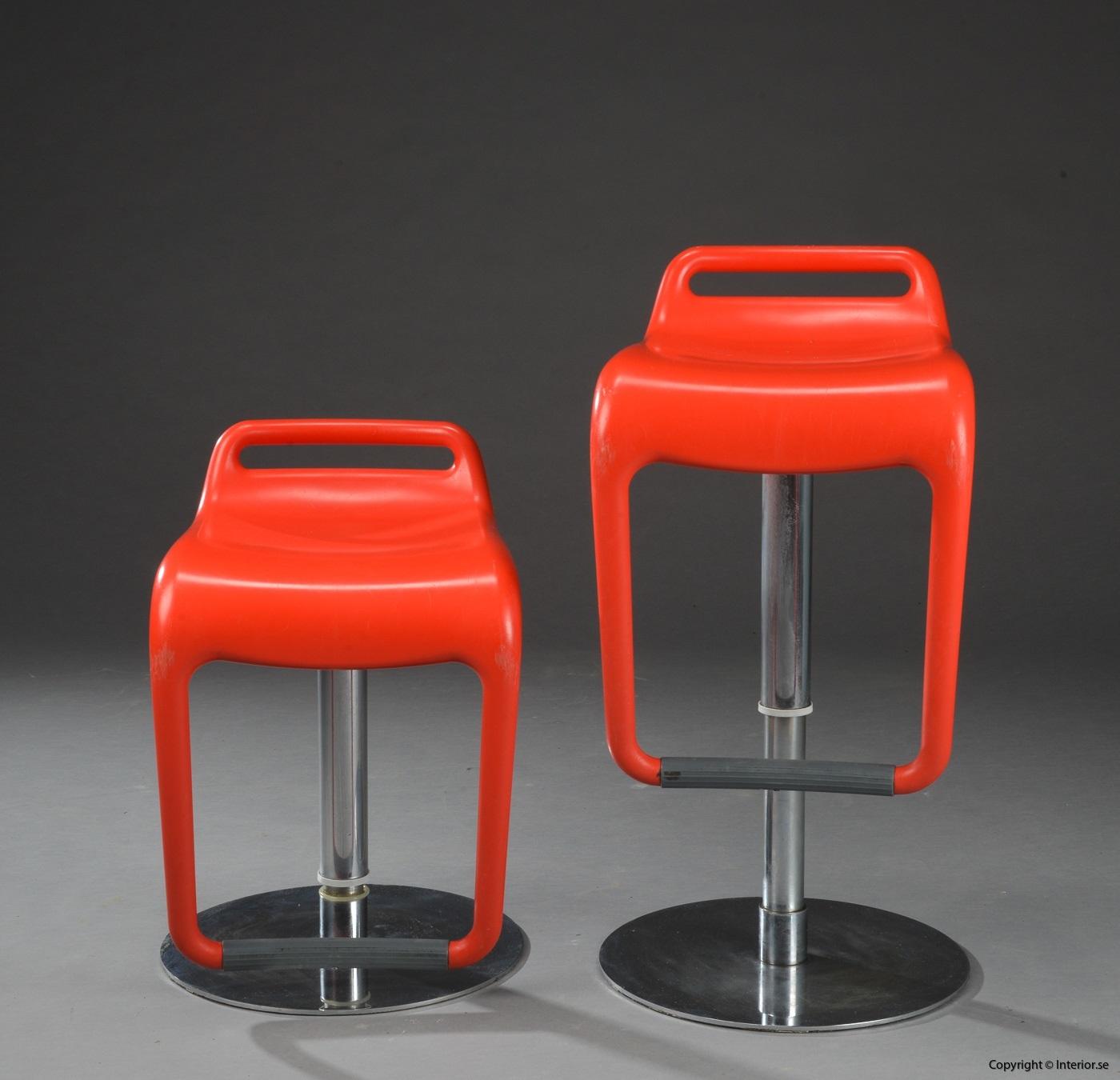 1 Segis Noon Archirivolto design barstol höj och sänkbar begagnade designmöbler (2)