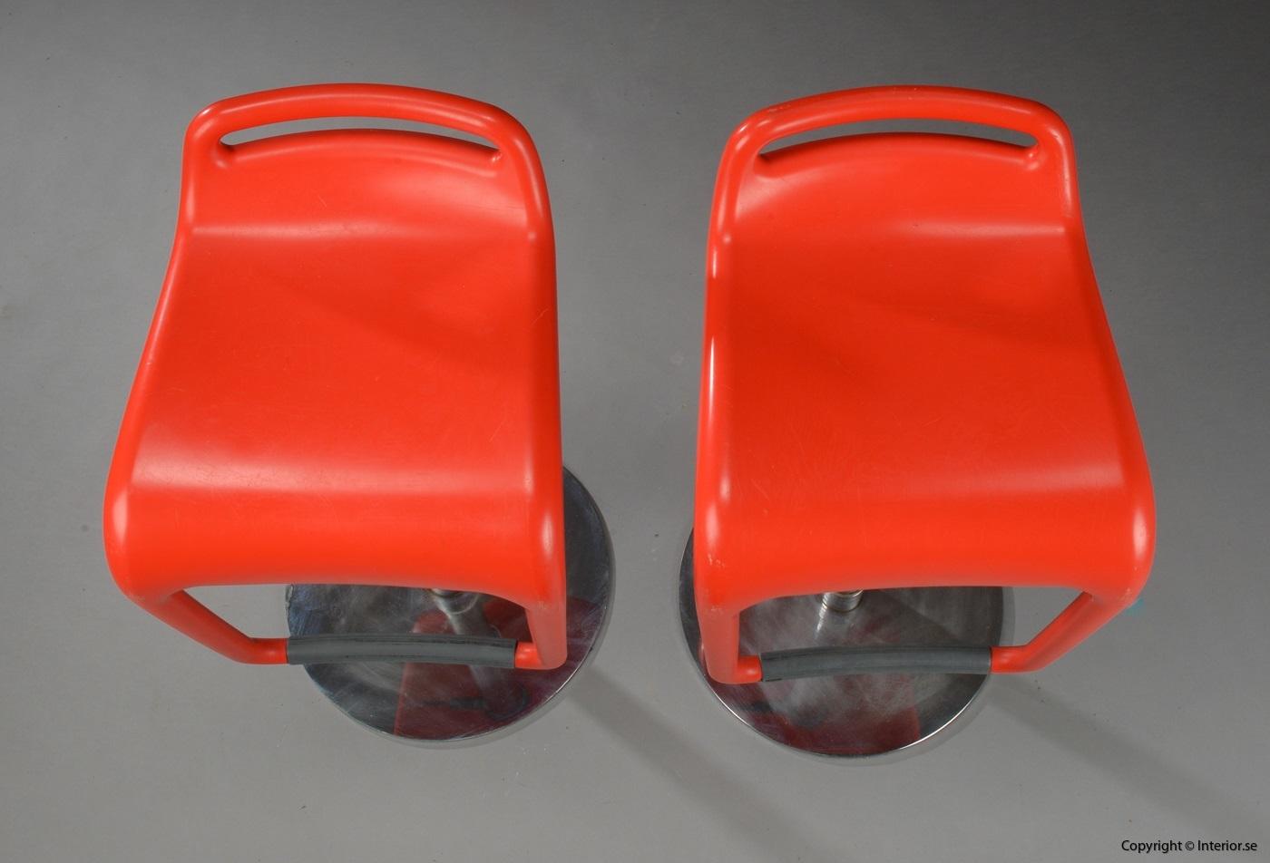 1 Segis Noon Archirivolto design barstol höj och sänkbar begagnade designmöbler (4)