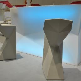 Hyra bardisk, Vondom RGB LED | Inbyggd ishink | Uppladdningsbar