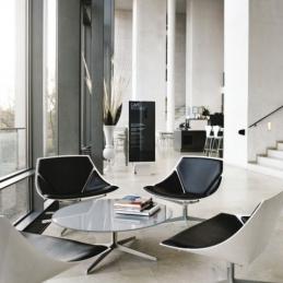 Soffbord, Fritz Hansen Space JL50 | Hyr designmöbler