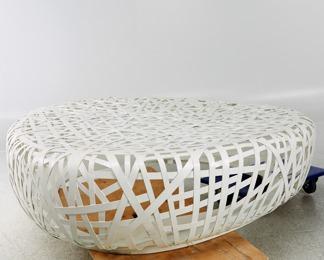 Exklusiv sittmöbel i stål