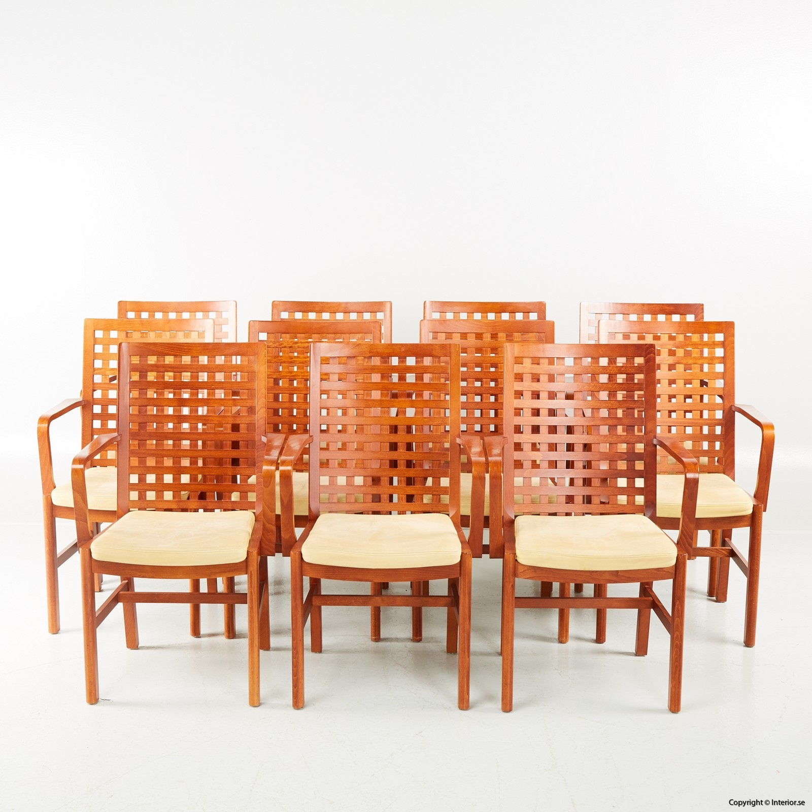 1 Konferensstolar Conference Chairs, Kvist Industries - Lädersits - Design furniture