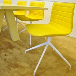 Stolar, Arper Catifa 46 - Sunny Yellow
