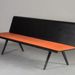 Bänk, Arper Zinta - Orange 240 cm