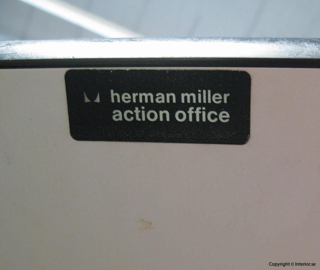 1 Kontorsbord, Herman Miller Action Office 1220 - George Nelson (14)