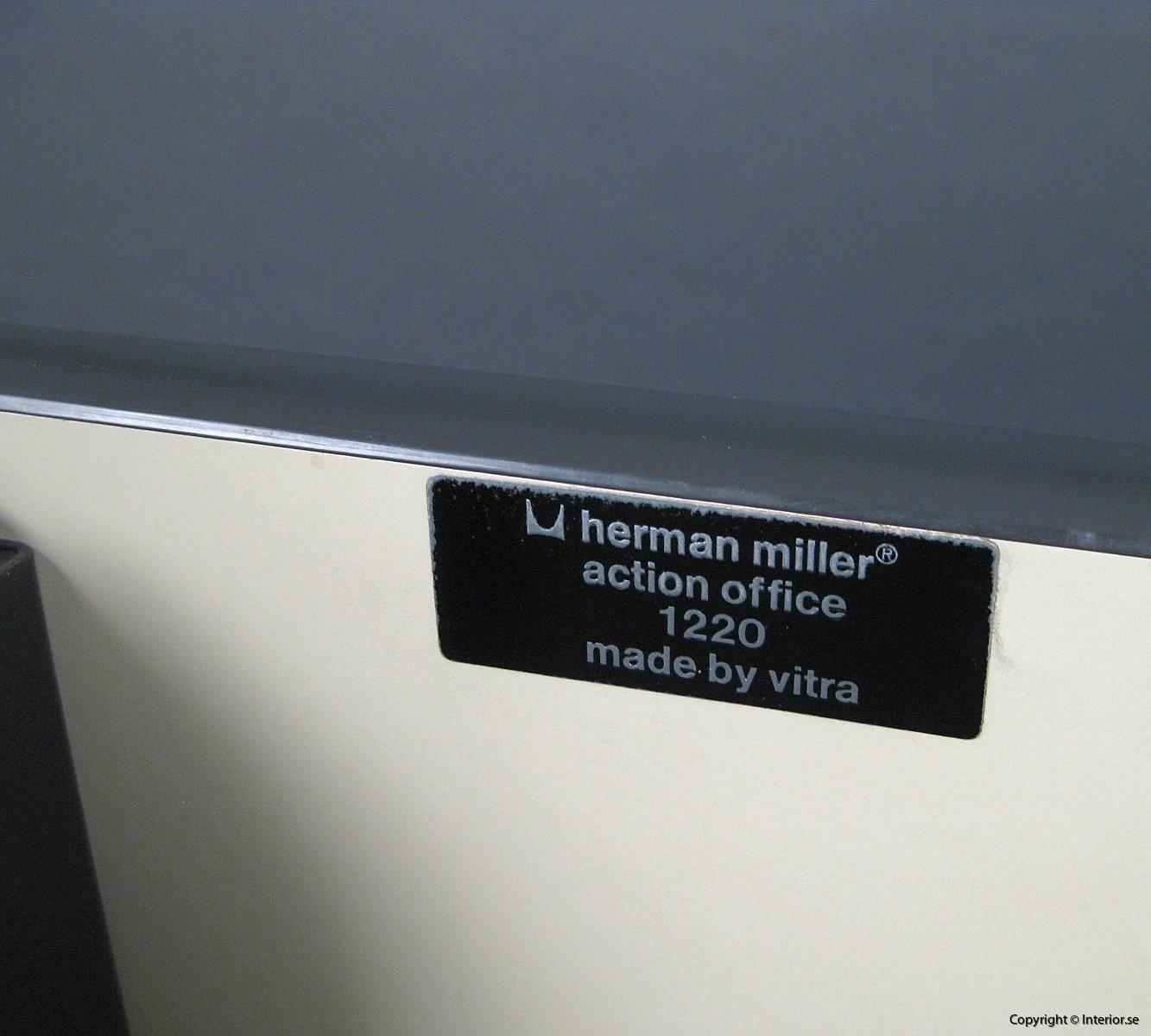 1 Herman Miller George Nelson Action Office Skrivbord Desk Designmöbler design furniture (9)