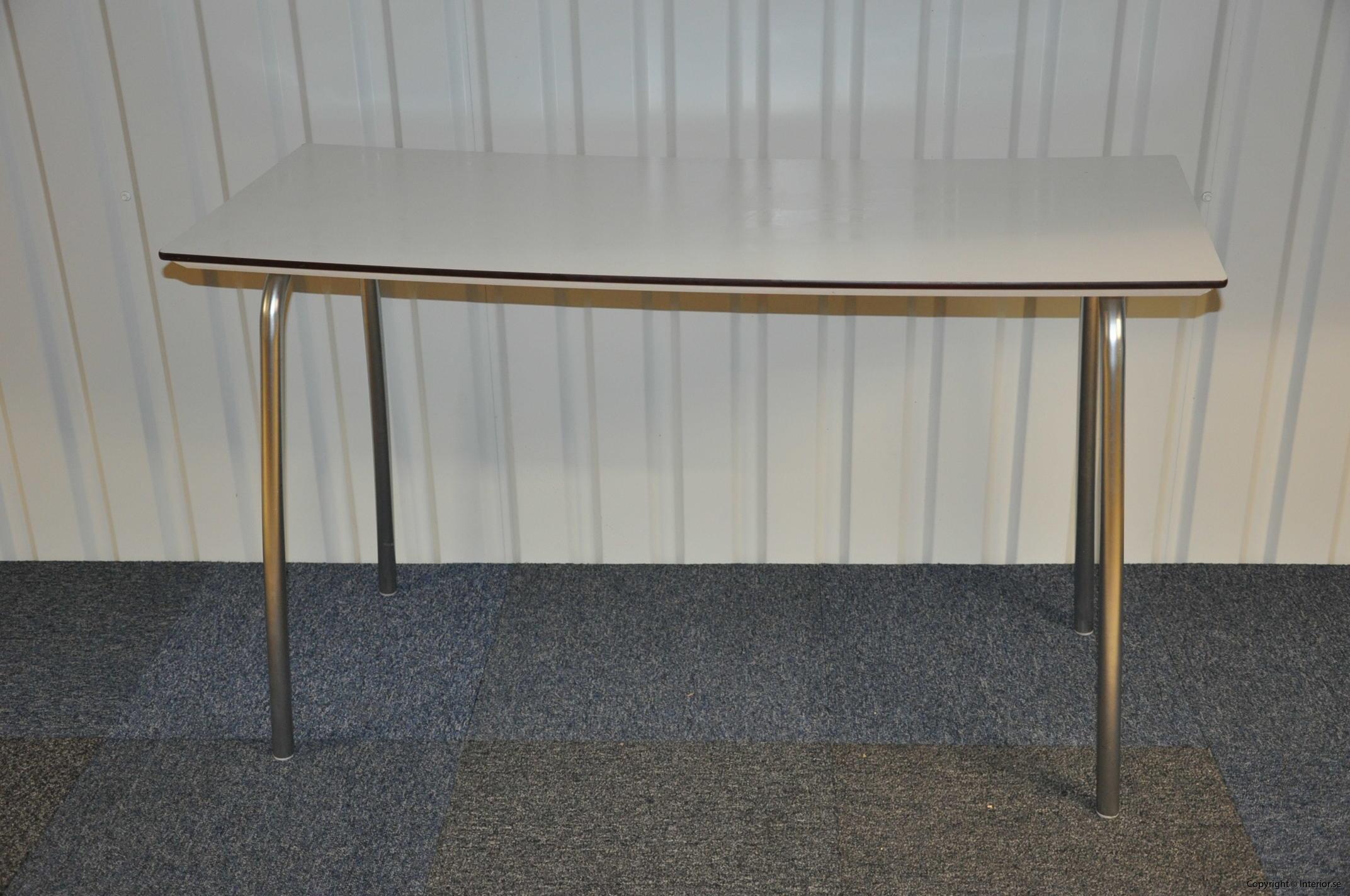 Hopfällbara bord, fällbara konferensbord, vit laminat 120 x 70 cm