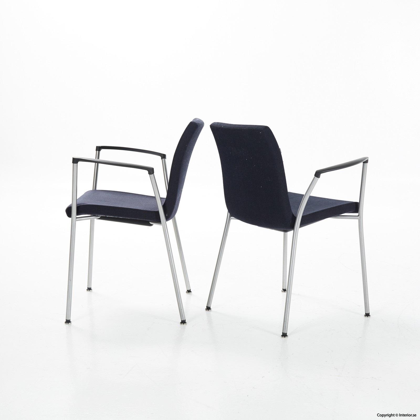 1 Konferensstol, Akaba Gorka - Mörkblå grå Konferensmöbler Konferensbord (3)