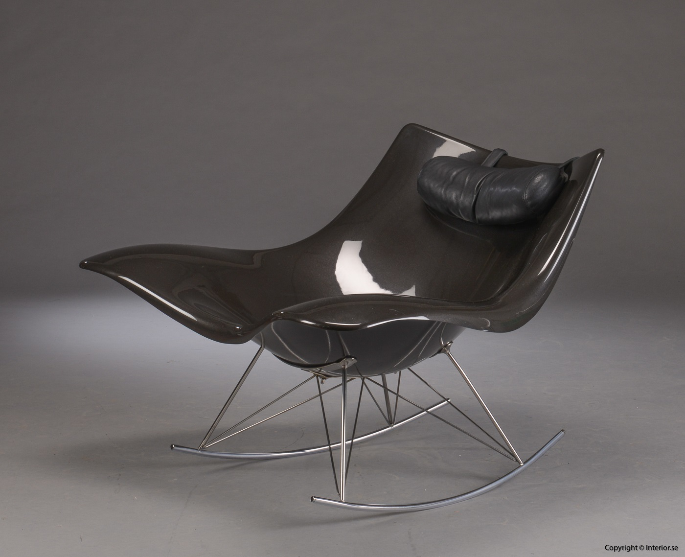1  Gungstol, Fredericia Furniture Stingray - Thomas Pedersen Rocking chair, Schaukelstuhl