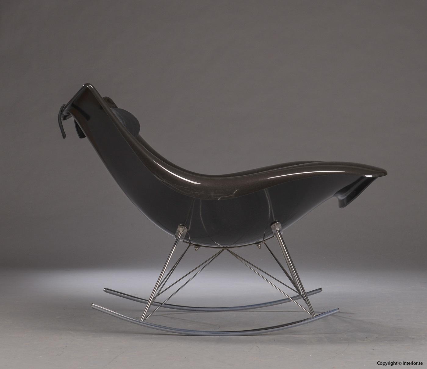 1 Gungstol, Fredericia Furniture Stingray - Thomas Pedersen Rocking chair, Schaukelstuhl (4)