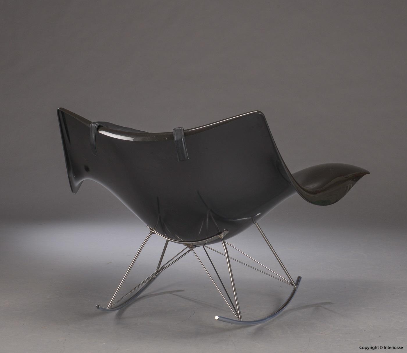 1 Gungstol, Fredericia Furniture Stingray - Thomas Pedersen Rocking chair, Schaukelstuhl (5)