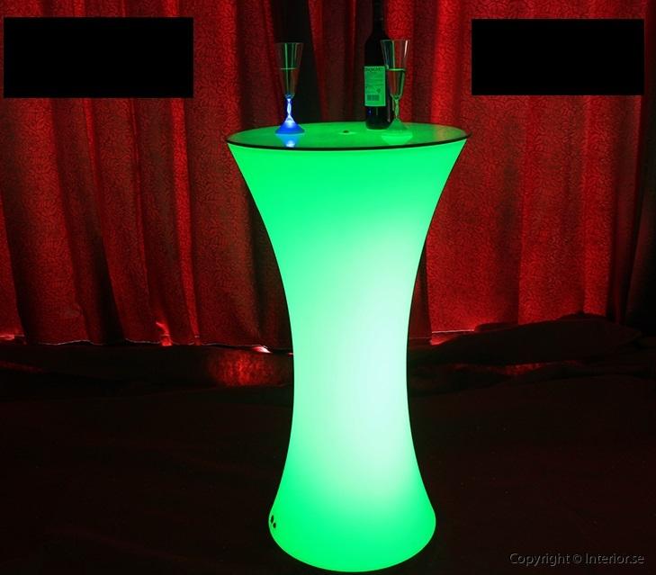 Hyra ståbordbarbord - RGB LED Uppladdsningsbar (23)
