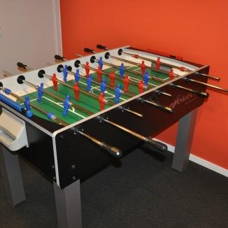 Foosball spel/Fotbollsspel, Evolution F-200 by Garlando   Hyr fotbollsspel