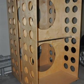 Garderob på hjul   Hyr möbler
