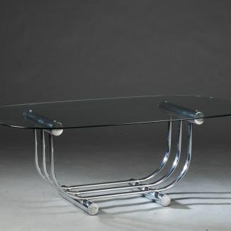 Bord, Chrome & Glas