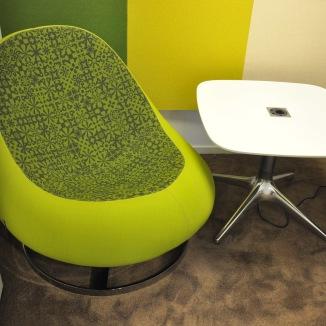 Loungefåtöljer, Johanson Design FLOW   Hyra möbler