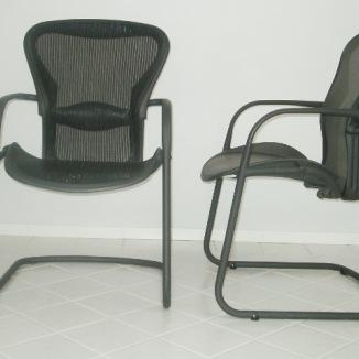 Stolar, Herman Miller Aeron Guest Chair | Hyr designmöbler