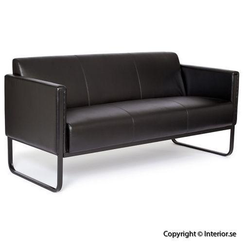 Soffa 3 sits konstläder besöksmöbler loungemöbler (2)