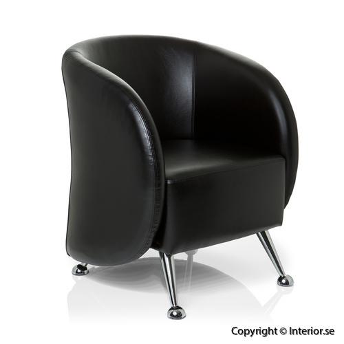 club fåtölj konstläder fåtölj loungemöbler (1)