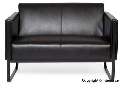 Soffa Invite 2 3 sits konstläder invite besöksmöbler loungemöbler  (1)