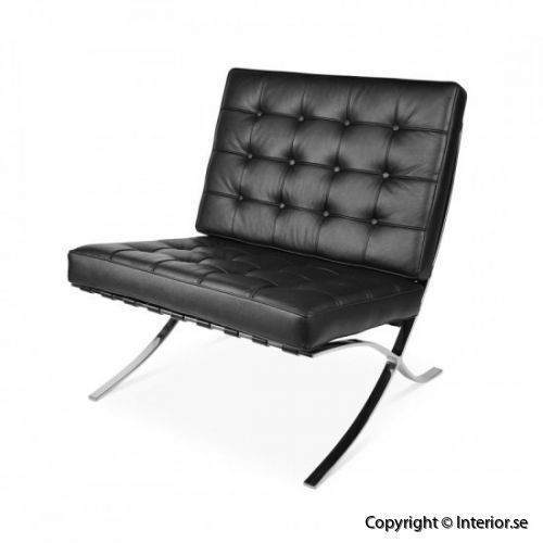 Barcelona chair fåtölj hyra designmöbler 2