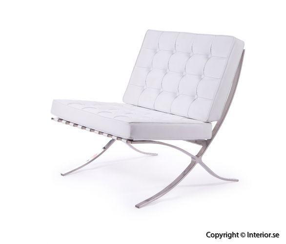Barcelona chair fåtölj hyra designmöbler